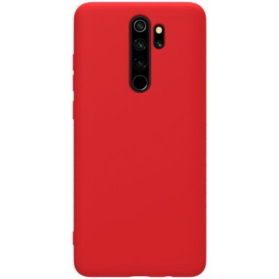 Nillkin Rubber Wrapped Protective Case для Xiaomi Redmi Note 8 Pro Красный