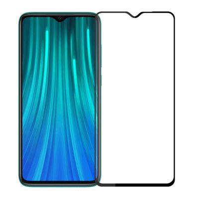 Защитное стекло полное покрытие для Redmi Note 8 Черное