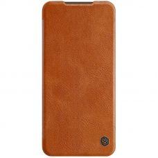 Nillkin Qin Case для Redmi Note 9 Коричневый