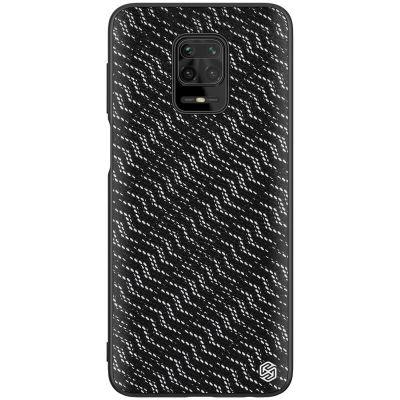 Nillkin Twinkle Cover  Case для Redmi Note 9 Pro/Redmi Note 9S Silver/Black