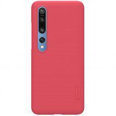 Клип-кейс Nillkin для Xiaomi Mi Note 10 lite Красный