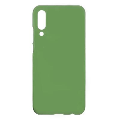 Чехол Soft Touch для Xiaomi Mi 9 Зеленый