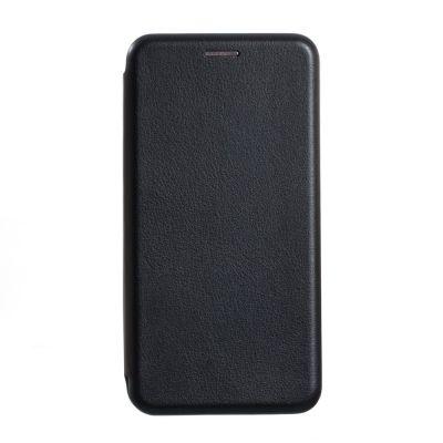 Чехол книжка для Xiaomi Mi Note 10 Черная