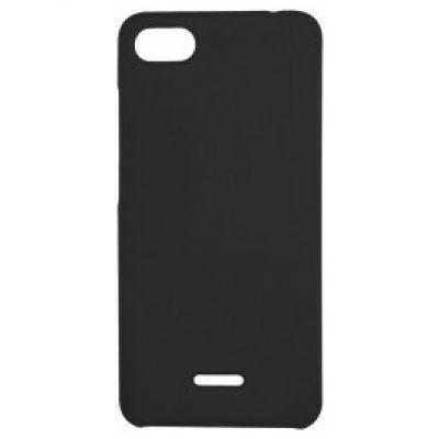 Чехол силиконовый матовый для Xiaomi Redmi 6A Черный