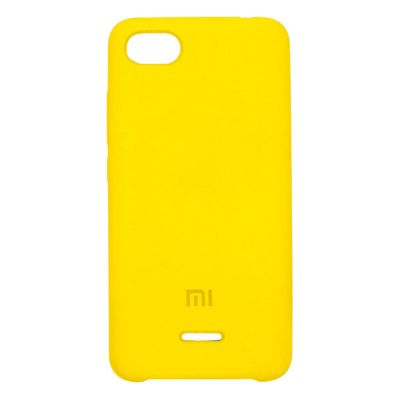 Клип-кейс Soft Touch для Xiaomi Redmi 6A Желтый
