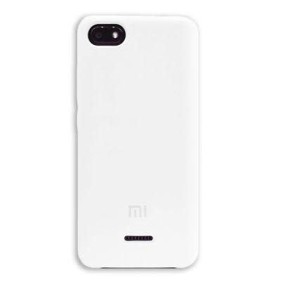 Клип-кейс Soft Touch для Xiaomi Redmi 6A Белый