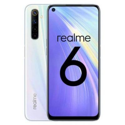 Смартфон Realme 6 4/128 White (Белая комета)