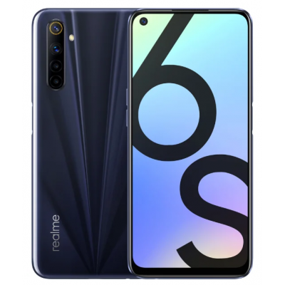 Смартфон Realme 6s 6/128 Eclipse Black (Черный) Global EU