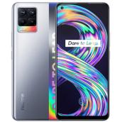 Смартфон Realme 8 6/128 Gb Cyber Silver (Серебристый)
