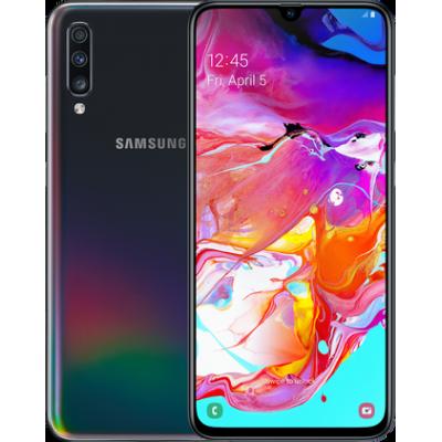 Samsung Galaxy A70 (2019)  4/64 Gb Black (Черный)