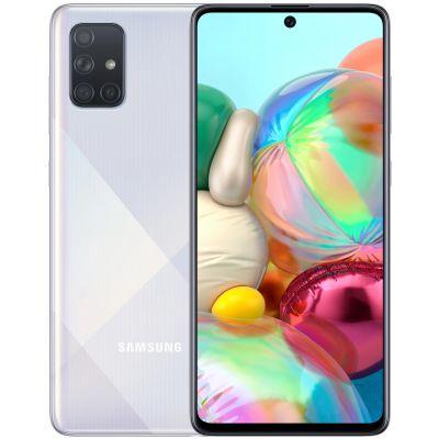 Samsung Galaxy A71 6/128 Gb Silver (Серебряный)