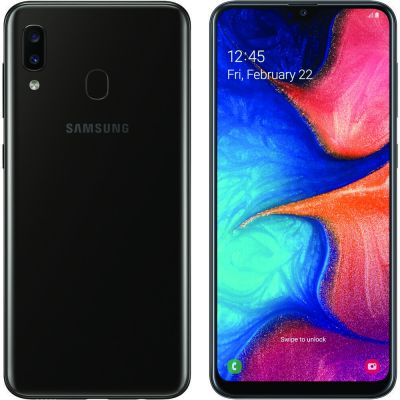 Samsung Galaxy A20 3/32 Gb Black (Черный)