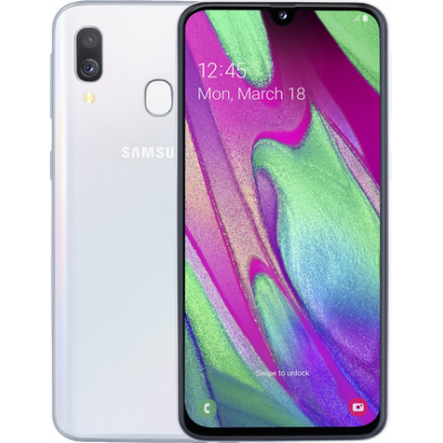 Samsung Galaxy A40 (2019) 4/64 Gb White (Белый)