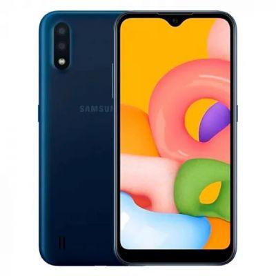 Samsung Galaxy M01 3/32 Gb Blue (Синий)