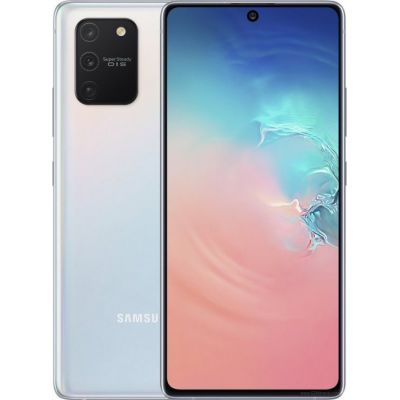 Смартфон Samsung Galaxy S10 Lite 6/128GB White (Перламутр)