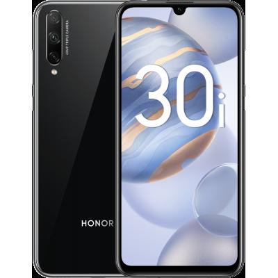 Смартфон Honor 30i 4/128 Gb Black (RU) Полночный черный