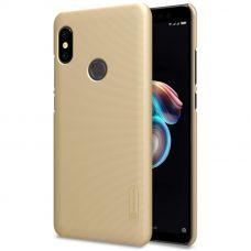Клип-кейс Nillkin для Xiaomi Redmi Note 5 / 5 Pro Gold