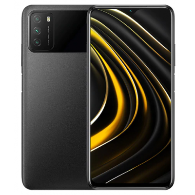 Xiaomi Poco M3 4/64GB Power Black (Черный)