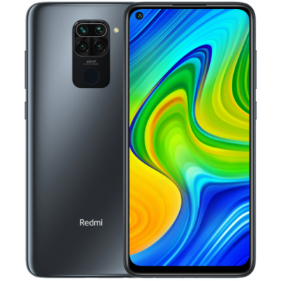 Смартфон Xiaomi Redmi Note 9 3/64 Gb NFC Onyx Black (Черный) Global EU