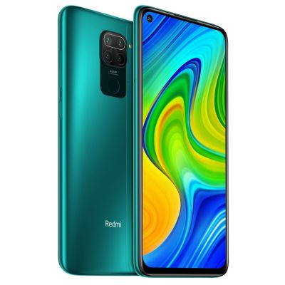 Смартфон XIaomi Redmi Note 9 4/128 Gb NFC Green (Зеленый) Global EU