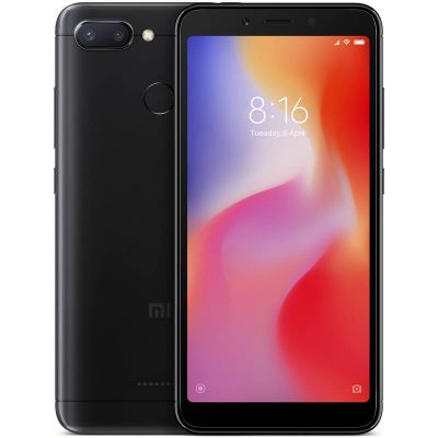 Xiaomi Redmi 6 4/64 Gb (Черный) Global EU