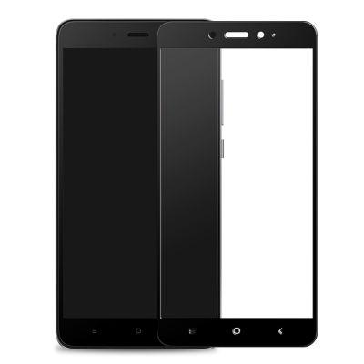 Защитное стекло для Xiaomi Redmi 4x (черное)