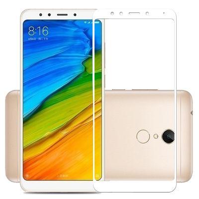 Защитное стекло для Xiaomi Redmi 5 Plus (белое)