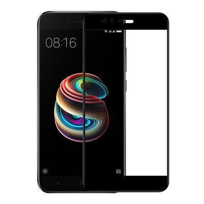 Защитное стекло для Xiaomi Mi 5X (черное)