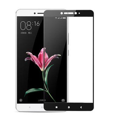 Защитное стекло для Xiaomi Mi Max 2 (черное)