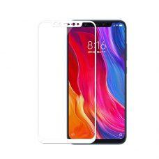 Защитное стекло для Xiaomi Mi 8 (белое)
