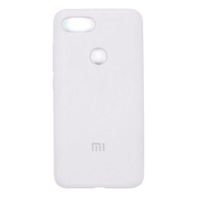 Клип-кейс Soft Touch Xiaomi Mi 8 Lite Белый