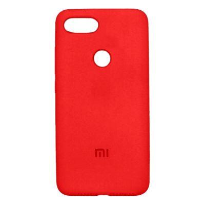 Клип-кейс Soft Touch Xiaomi Mi 8 Lite Красный