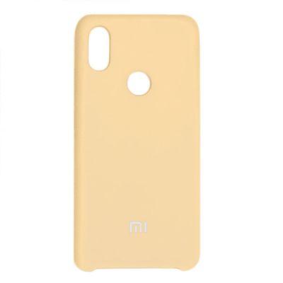 Клип-кейс Soft Touch Xiaomi Mi 8 Lite Золотой