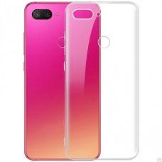 Силиконовый чехол для Xiaomi Mi 8 Lite Прозрачный