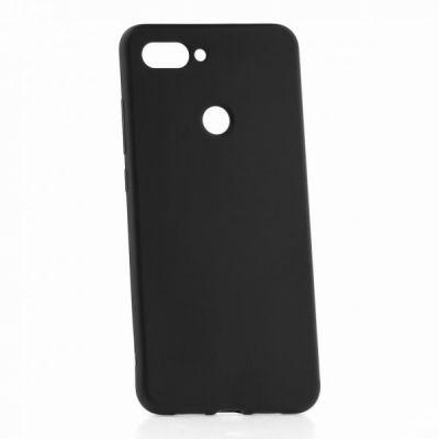 Силиконовый чехол для Xiaomi Mi 8 Lite Черный