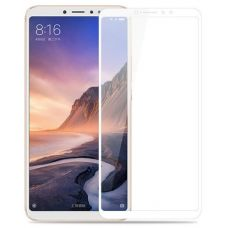 Защитное стекло для Xiaomi Mi Max 3 Белое