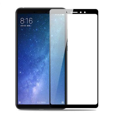 Защитное стекло для Xiaomi Mi Max 3 Черное