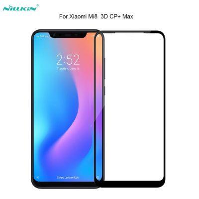 Защитное стекло Nillkin CP+ для Xiaomi Mi 8 Черное