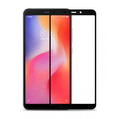 Защитное стекло полный экран для Xiaomi Redmi 6 / 6a Black