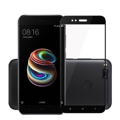 Защитное стекло для Xiaomi Mi A1 (черное)