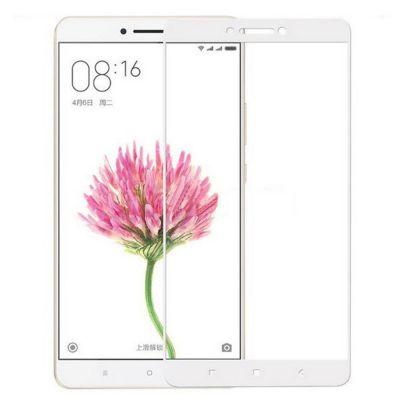Защитное стекло для Xiaomi Mi Max 2 (белое)