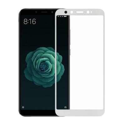 Защитное стекло на полный экран для Xiaomi Mi 6x/A2 Белое