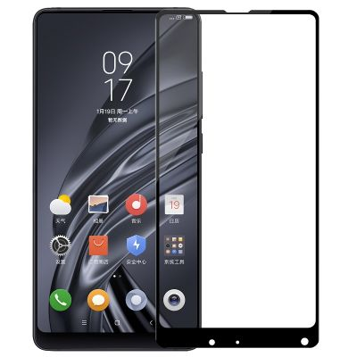 Защитное стекло для Xiaomi Mi Mix 2 (черное)