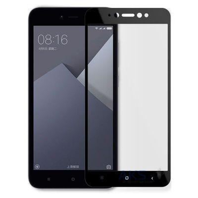 Защитное стекло для Xiaomi Redmi Note 5A (черное)