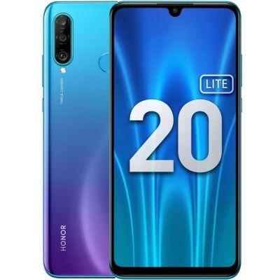 Смартфон Honor 20 Lite 4/128 Gb Blue (RU) Сине-фиолетовый